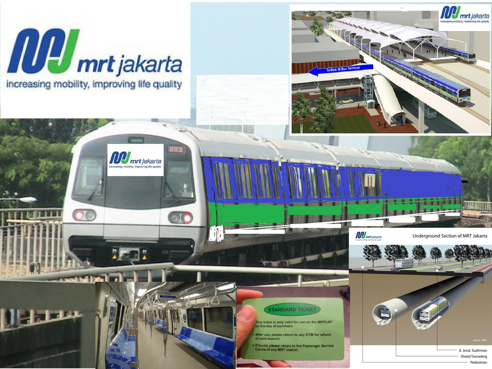 mrt jakarta This jakarta mrt map provides an overview of m1 north south mrt line that is set to open in march 2019 jakarta mrt is a very long awaited alternative form of public transportation that.